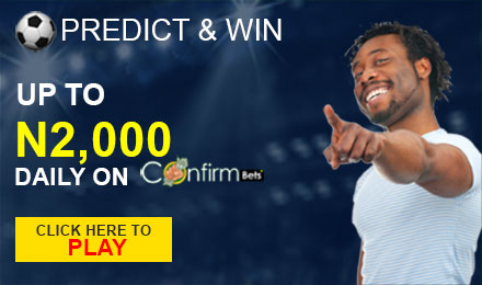 Win up N2000 daily on Confirmbets